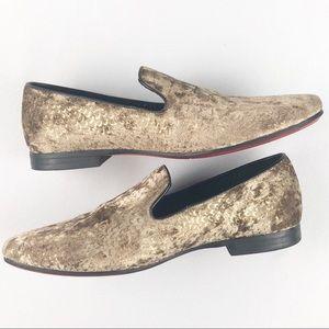 Mens Giorgio Brutini Loafer Gold Synthetic 9.5 M